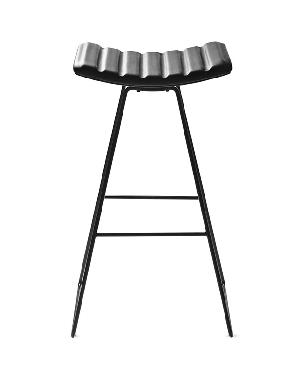 A3Stool_Black-Leather_Black-Base_Front
