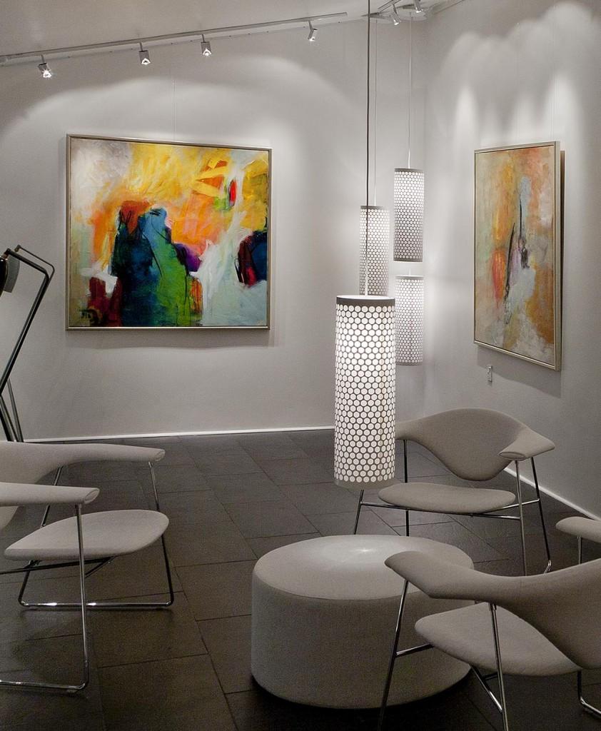 Galleri Kindt-Larsen rådgiver om indretning og udsmykning