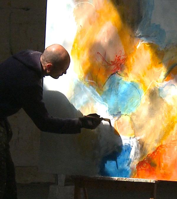Kunstmaler Svend Kindt-Larsen