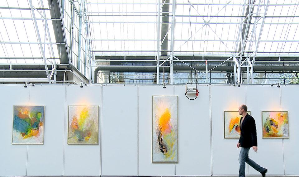 Svend Kindt Larsen udstilling belleacenter