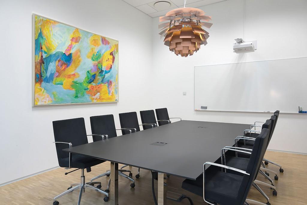 Bestyrelsens møderum hos Siemens