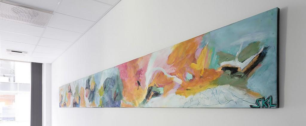 Cobis A/S fik 5 meter lange malerier i leasingaftale
