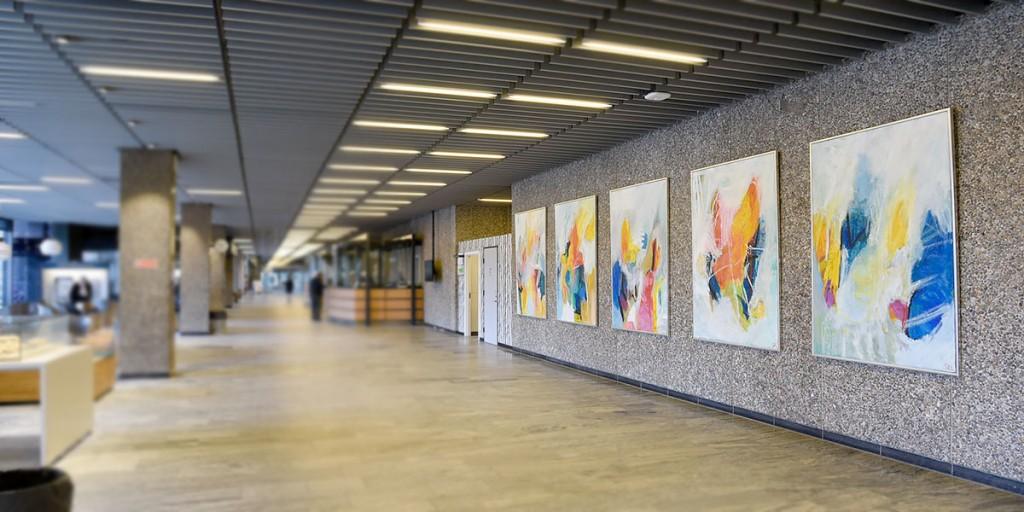 Malerier til udsmykning af Rigshospitalet