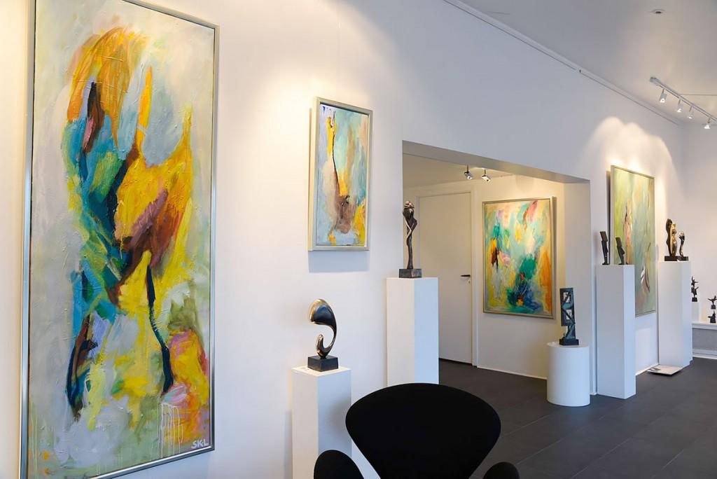 Svend Kindt-Larsens galleri i Espergærde