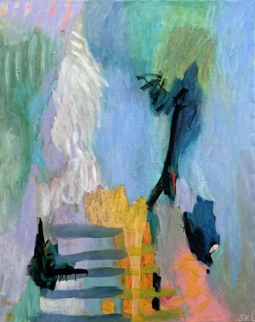 The Mystery, 155x125 cm, Olie