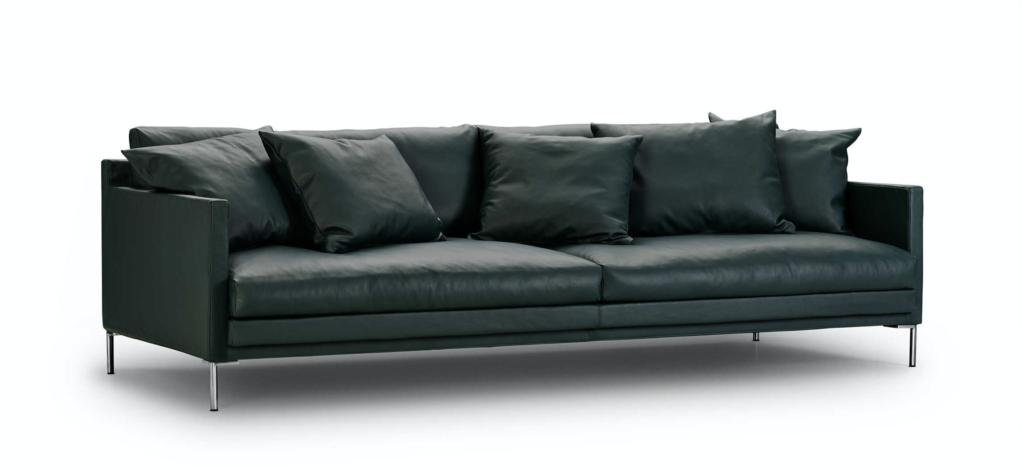 Eilersen Ash Sofa, DKK 67.475 (inkl læder og puder)