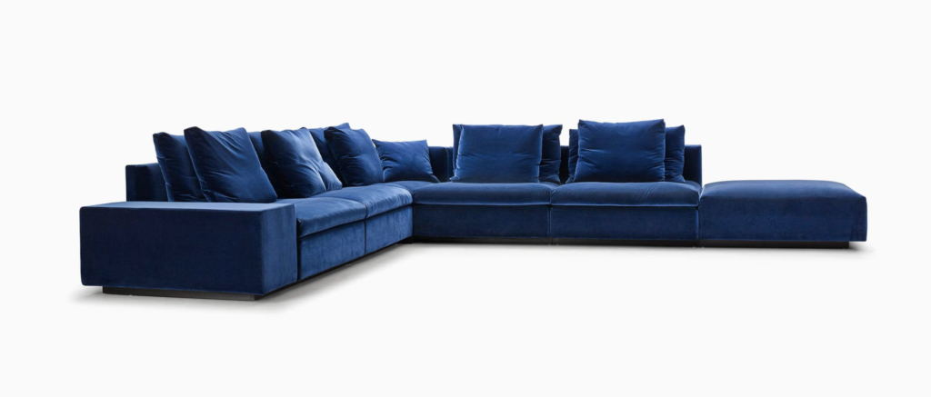 Eilersen Dacapo Sofa, DKK 152.260 (inkl stof og puder)